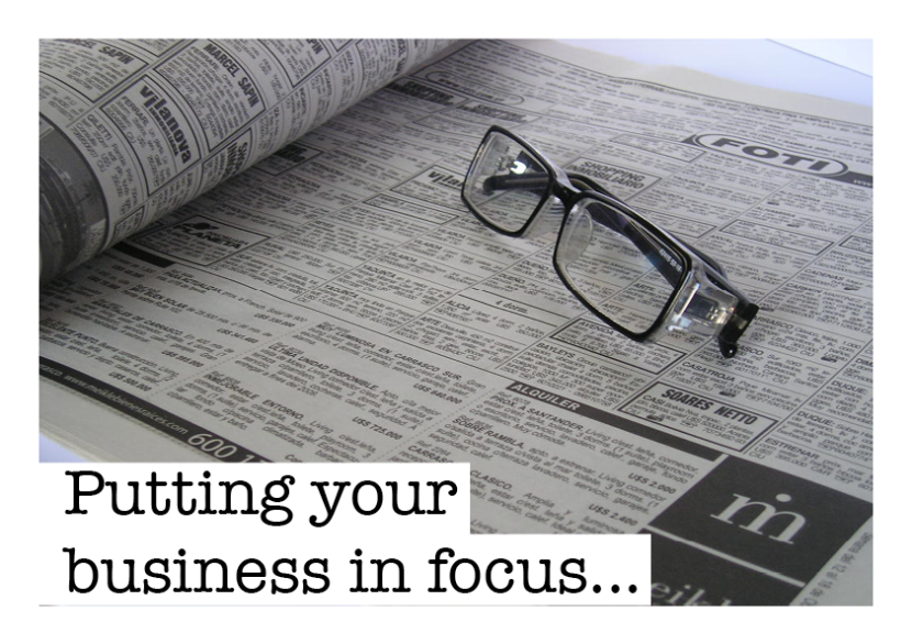 Puttingyourbusinessinfocus
